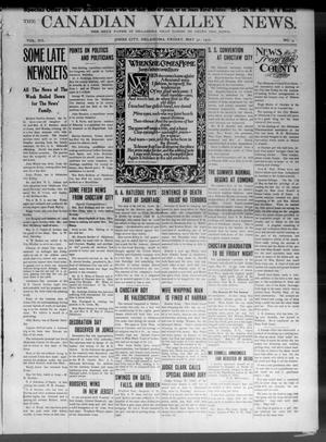Primary view of object titled 'The Canadian Valley News. (Jones City, Okla.), Vol. 12, No. 3, Ed. 1 Friday, May 31, 1912'.