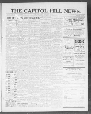 Primary view of object titled 'The Capitol Hill News. (Oklahoma City, Okla.), Vol. 8, No. 41, Ed. 1 Thursday, June 26, 1913'.