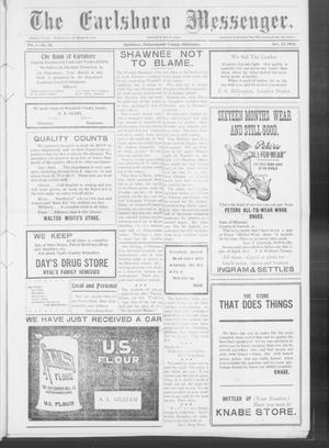 Primary view of object titled 'The Earlsboro Messenger. (Earlsboro, Okla.), Vol. 1, No. 26, Ed. 1 Thursday, November 14, 1912'.