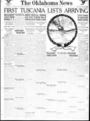 Primary view of object titled 'The Oklahoma News (Oklahoma City, Okla.), Vol. 12, No. 113, Ed. 1 Thursday, February 7, 1918'.