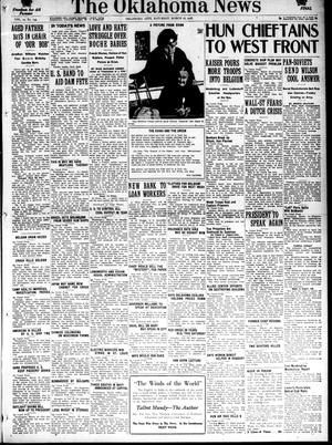 Primary view of object titled 'The Oklahoma News (Oklahoma City, Okla.), Vol. 12, No. 145, Ed. 1 Saturday, March 16, 1918'.