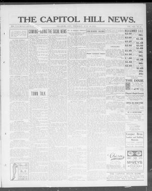 Primary view of object titled 'The Capitol Hill News. (Oklahoma City, Okla.), Vol. 8, No. 45, Ed. 1 Thursday, July 24, 1913'.