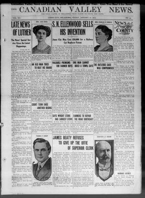 The Canadian Valley News. (Jones City, Okla.), Vol. 12, No. 35, Ed. 1 Friday, January 10, 1913