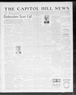 Primary view of object titled 'The Capitol Hill News (Capitol Hill, Okla.), Vol. 7, No. 44, Ed. 1 Thursday, July 18, 1912'.