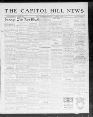 Primary view of object titled 'The Capitol Hill News (Capitol Hill, Okla.), Vol. 7, No. 46, Ed. 1 Thursday, August 1, 1912'.