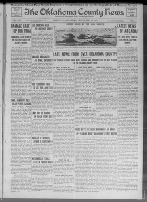 Primary view of object titled 'The Oklahoma County News (Jones City, Okla.), Vol. 16, No. 4, Ed. 1 Friday, May 26, 1916'.