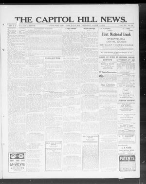 Primary view of object titled 'The Capitol Hill News. (Capitol Hill, Okla.), Vol. 7, No. 48, Ed. 1 Thursday, August 15, 1912'.