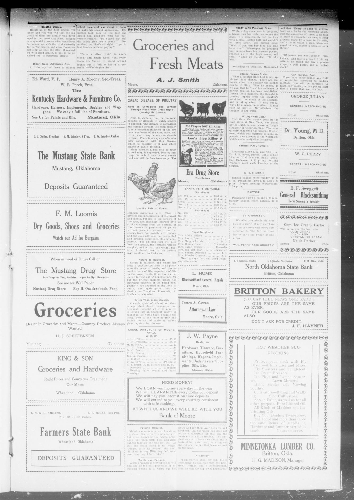 The Capitol Hill News (Oklahoma City, Okla.), Vol. 1, No. 23, Ed. 1 Saturday, June 24, 1916                                                                                                      [Sequence #]: 3 of 8