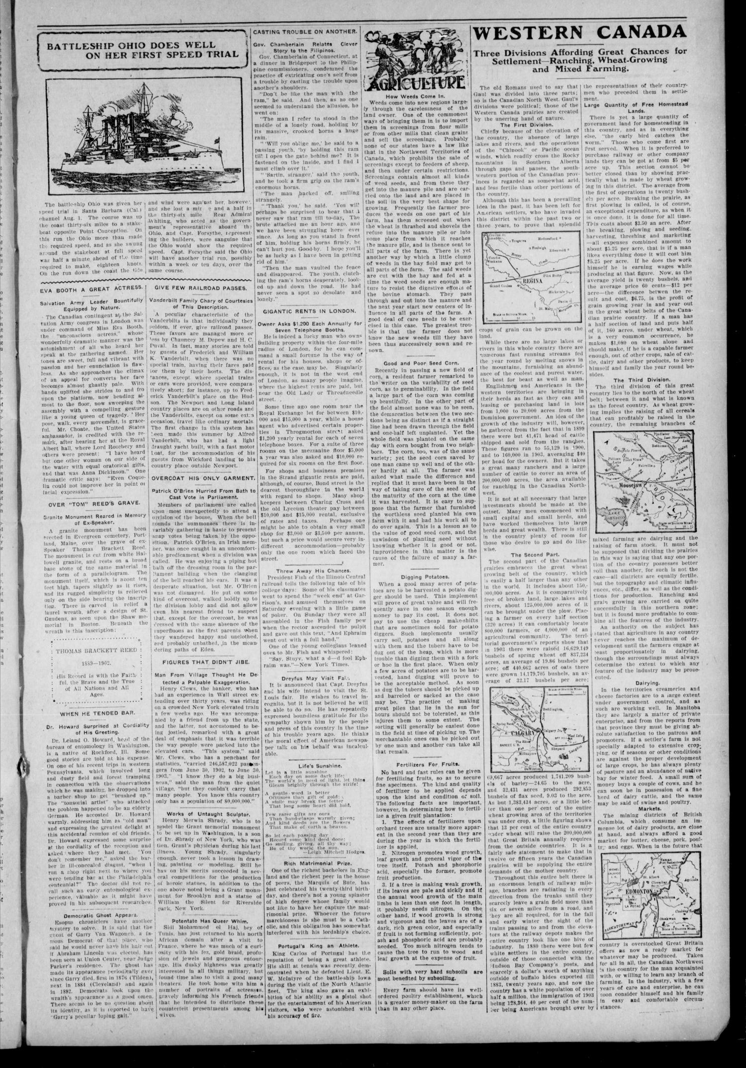 McLoud Sunbeam. (McLoud, Okla.), Vol. 9, No. 1, Ed. 1 Friday, August 12, 1904                                                                                                      [Sequence #]: 3 of 8