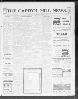 Primary view of object titled 'The Capitol Hill News. (Capitol Hill, Okla.), Vol. 8, No. 5, Ed. 1 Thursday, October 17, 1912'.