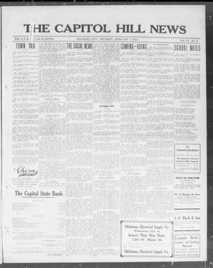 Primary view of object titled 'The Capitol Hill News (Oklahoma City, Okla.), Vol. 9, No. 21, Ed. 1 Thursday, February 5, 1914'.