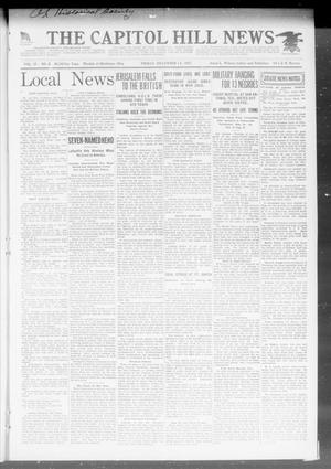 Primary view of object titled 'The Capitol Hill News (Oklahoma City, Okla.), Vol. 17, No. 8, Ed. 1 Friday, December 14, 1917'.