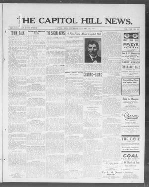 Primary view of object titled 'The Capitol Hill News. (Capitol Hill, Okla.), Vol. 8, No. 19, Ed. 1 Thursday, January 23, 1913'.