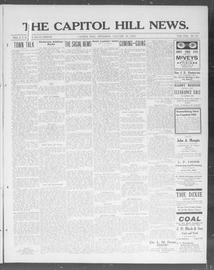 Primary view of object titled 'The Capitol Hill News. (Capitol Hill, Okla.), Vol. 8, No. 18, Ed. 1 Thursday, January 16, 1913'.
