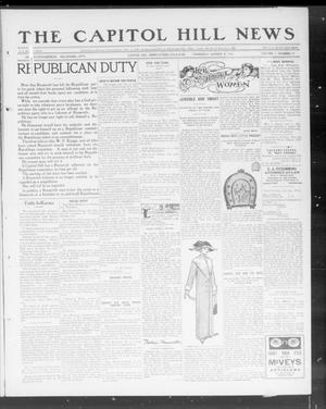 Primary view of object titled 'The Capitol Hill News (Capitol Hill, Okla.), Vol. 7, No. 47, Ed. 1 Thursday, August 8, 1912'.