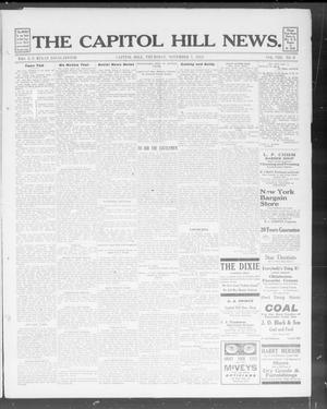 Primary view of object titled 'The Capitol Hill News. (Capitol Hill, Okla.), Vol. 8, No. 8, Ed. 1 Thursday, November 7, 1912'.