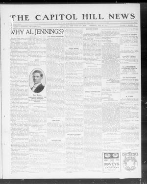 Primary view of object titled 'The Capitol Hill News (Capitol Hill, Okla.), Vol. 7, No. 45, Ed. 1 Thursday, July 25, 1912'.