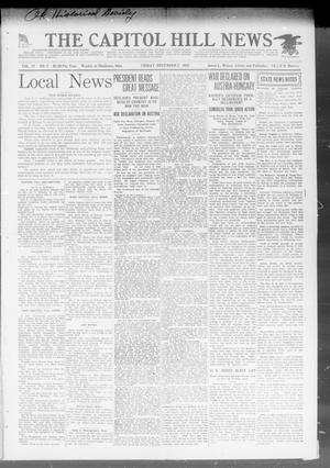 Primary view of object titled 'The Capitol Hill News (Oklahoma City, Okla.), Vol. 17, No. 7, Ed. 1 Friday, December 7, 1917'.