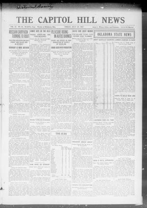 Primary view of object titled 'The Capitol Hill News (Oklahoma City, Okla.), Vol. 12, No. 44, Ed. 1 Friday, July 27, 1917'.