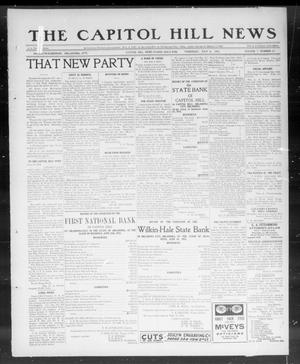 Primary view of object titled 'The Capitol Hill News (Capitol Hill, Okla.), Vol. 7, No. 42, Ed. 1 Thursday, July 4, 1912'.