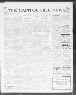 Primary view of object titled 'The Capitol Hill News. (Capitol Hill, Okla.), Vol. 8, No. 14, Ed. 1 Thursday, December 19, 1912'.
