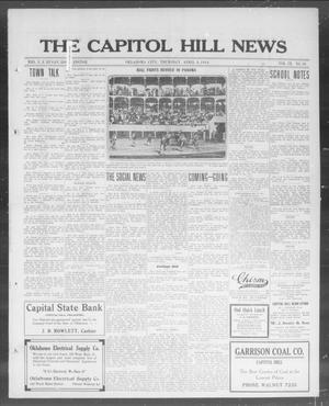 Primary view of object titled 'The Capitol Hill News (Oklahoma City, Okla.), Vol. 9, No. 29, Ed. 1 Thursday, April 2, 1914'.
