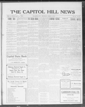 Primary view of object titled 'The Capitol Hill News (Oklahoma City, Okla.), Vol. 9, No. 25, Ed. 1 Thursday, March 5, 1914'.