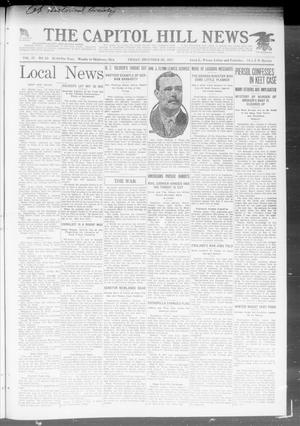 Primary view of object titled 'The Capitol Hill News (Oklahoma City, Okla.), Vol. 17, No. 10, Ed. 1 Friday, December 28, 1917'.