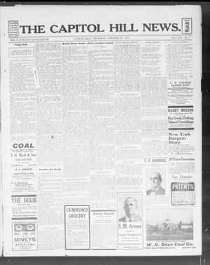 Primary view of object titled 'The Capitol Hill News. (Capitol Hill, Okla.), Vol. 8, No. 7, Ed. 1 Thursday, October 31, 1912'.