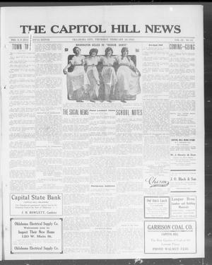 Primary view of object titled 'The Capitol Hill News (Oklahoma City, Okla.), Vol. 9, No. 24, Ed. 1 Thursday, February 26, 1914'.