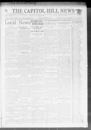 Primary view of object titled 'The Capitol Hill News (Oklahoma City, Okla.), Vol. 16, No. 7, Ed. 1 Friday, November 30, 1917'.