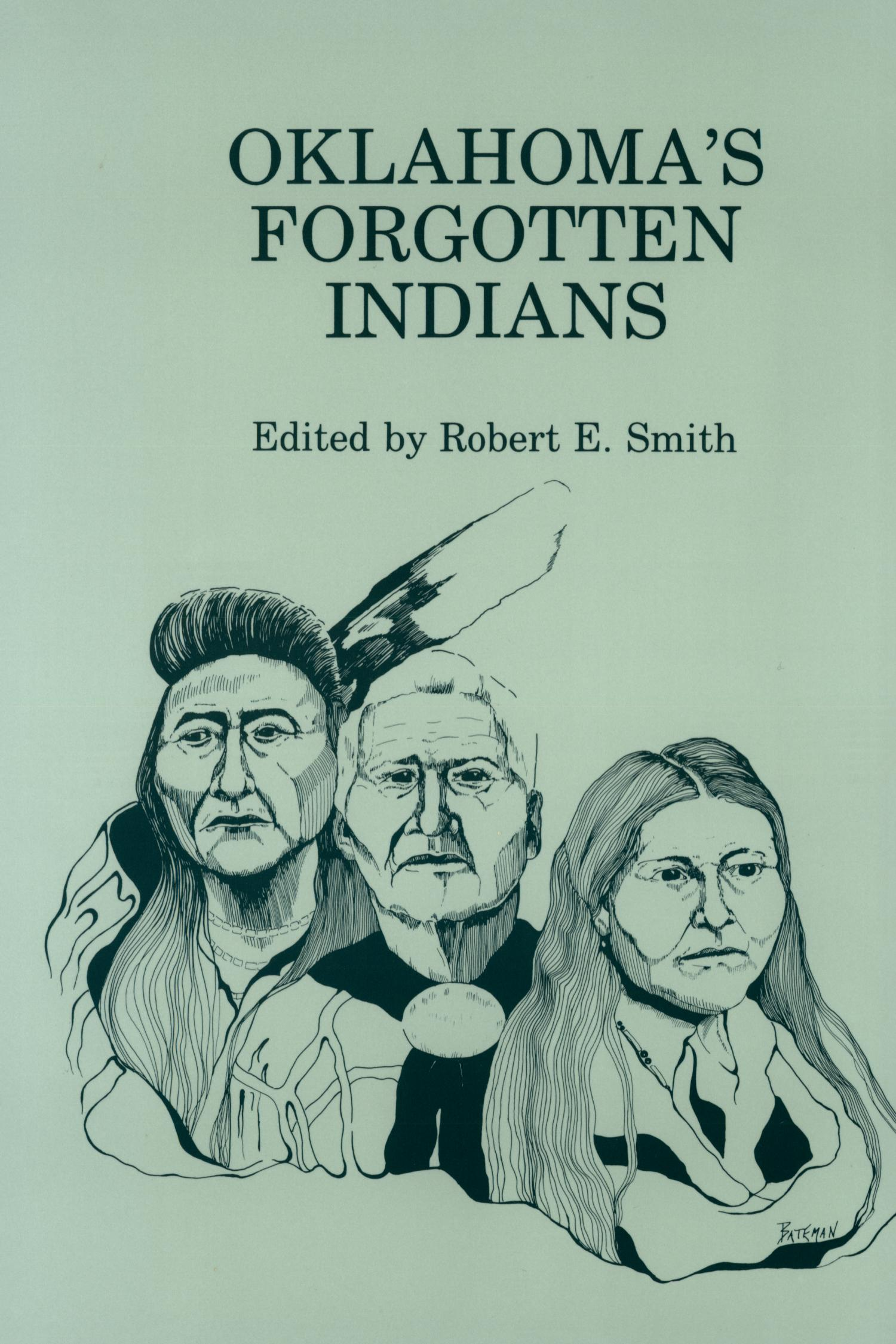 Oklahoma's Forgotten Indians                                                                                                      Front Cover