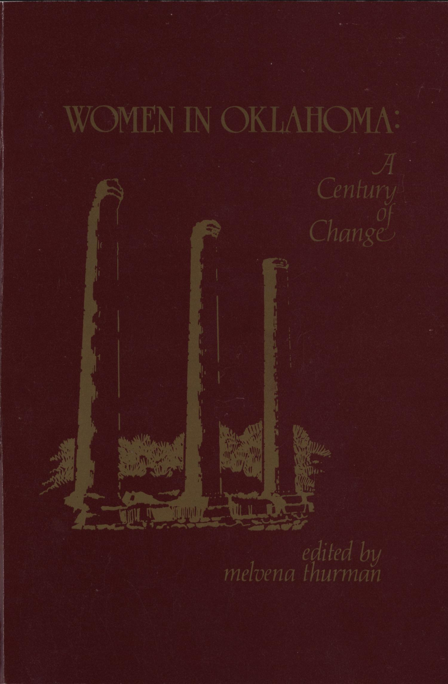 Women in Oklahoma: A Century of Change                                                                                                      Front Cover