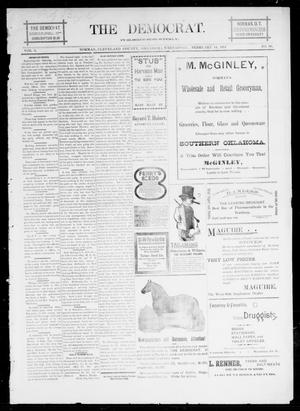 Primary view of object titled 'The Democrat. (Norman, Okla.), Vol. 5, No. 60, Ed. 1 Wednesday, February 14, 1894'.