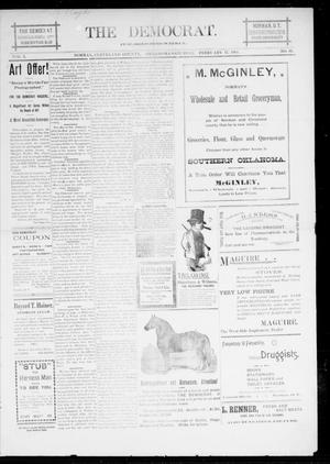 Primary view of object titled 'The Democrat. (Norman, Okla.), Vol. 5, No. 61, Ed. 1 Saturday, February 17, 1894'.