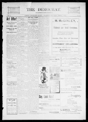 Primary view of object titled 'The Democrat. (Norman, Okla.), Vol. 5, No. 65, Ed. 1 Saturday, March 3, 1894'.