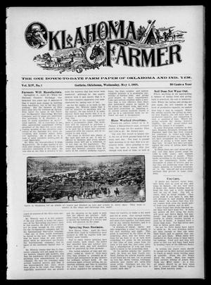 Primary view of object titled 'Oklahoma Farmer (Guthrie, Okla.), Vol. 14, No. 1, Ed. 1 Wednesday, May 3, 1905'.