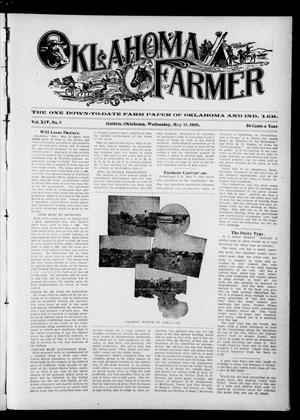 Primary view of object titled 'Oklahoma Farmer (Guthrie, Okla.), Vol. 14, No. 5, Ed. 1 Wednesday, May 31, 1905'.