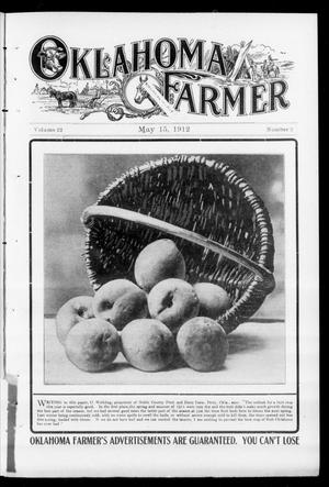 Primary view of object titled 'Oklahoma Farmer (Guthrie, Okla.), Vol. 22, No. 2, Ed. 1 Wednesday, May 15, 1912'.