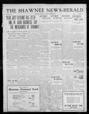 Primary view of object titled 'The Shawnee News-Herald (Shawnee, Okla.), Vol. 16, No. 117, Ed. 1 Friday, December 1, 1911'.