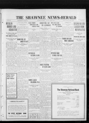 Primary view of object titled 'The Shawnee News-Herald (Shawnee, Okla.), Vol. 16, No. 190, Ed. 1 Saturday, March 2, 1912'.
