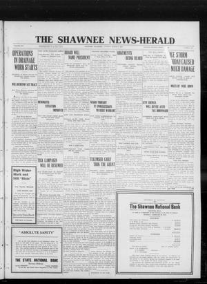 Primary view of object titled 'The Shawnee News-Herald (Shawnee, Okla.), Vol. 16, No. 192, Ed. 1 Tuesday, March 5, 1912'.