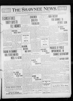 Primary view of object titled 'The Shawnee News. (Shawnee, Okla.), Vol. 14, No. 225, Ed. 1 Saturday, August 7, 1909'.