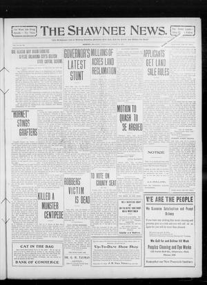 Primary view of object titled 'The Shawnee News. (Shawnee, Okla.), Vol. 14, No. 234, Ed. 1 Wednesday, August 18, 1909'.