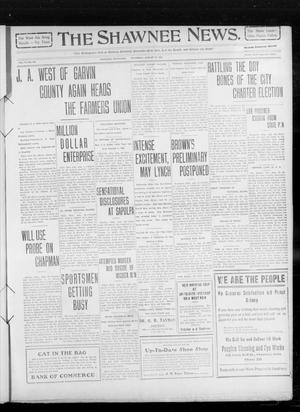Primary view of object titled 'The Shawnee News. (Shawnee, Okla.), Vol. 14, No. 235, Ed. 1 Thursday, August 19, 1909'.