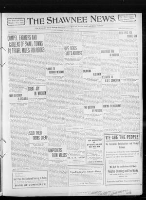 Primary view of object titled 'The Shawnee News. (Shawnee, Okla.), Vol. 14, No. 237, Ed. 1 Saturday, August 21, 1909'.