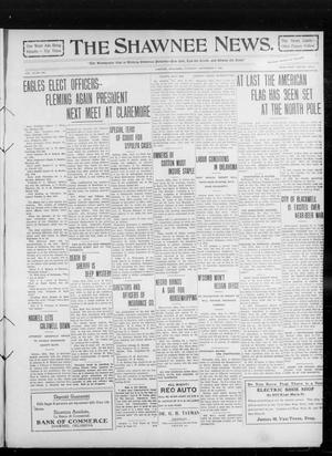 Primary view of object titled 'The Shawnee News. (Shawnee, Okla.), Vol. 14, No. 247, Ed. 1 Thursday, September 2, 1909'.