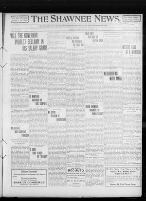 Primary view of object titled 'The Shawnee News. (Shawnee, Okla.), Vol. 14, No. 249, Ed. 1 Saturday, September 4, 1909'.