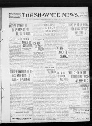 Primary view of object titled 'The Shawnee News. (Shawnee, Okla.), Vol. 14, No. 259, Ed. 1 Friday, September 17, 1909'.