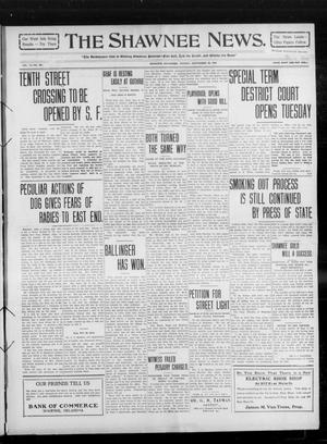 Primary view of object titled 'The Shawnee News. (Shawnee, Okla.), Vol. 14, No. 261, Ed. 1 Monday, September 20, 1909'.